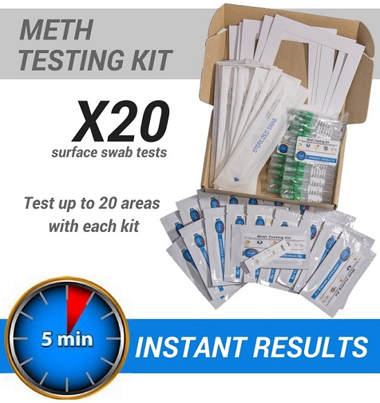 20x DIY Instant Meth Test Kits – Recommended for Landlords